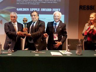 """Premiul """"Golden Apple"""" a fost acordat orașului Palermo în 2018. FOTO palermo.it"""