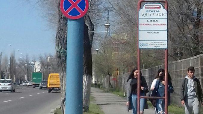 Așa arată stâlpii din Mamaia. FOTO Cristina I.
