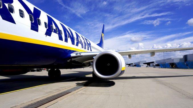Aeronavă RyanAir. FOTO MV-Fotos