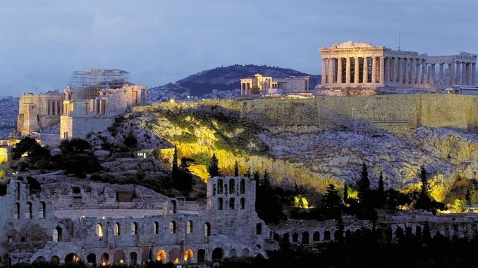 Acropole, Atena, Grecia. FOTO Dias12
