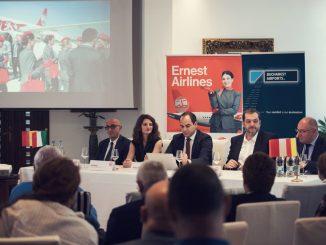 Lansare curse Ernest Airlines de la București. FOTO Ernest Airlines