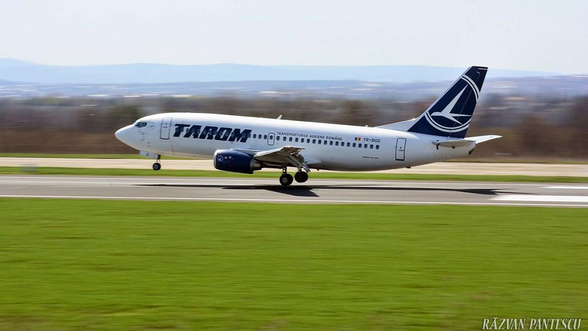 Aeronavă TAROM. FOTO Facebook/Tarom / Răzvan Pântescu