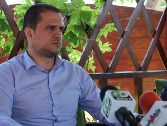 Ministrul turismului, Bogdan Trif, în Delta Dunării. FOTO Adrian Boioglu