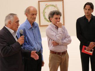Deschiderea expoziției pictorului Ion Grigorescu, la European Music Festival. FOTO Adrian Boioglu