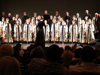 Corul Madrigal a închis ceremoniile de la European Music Open Oradea. FOTO Adrian Boioglu