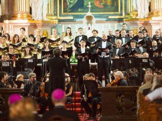 Concertul de la Catedrala Romano Catolică din Oradea. FOTO Dan Pereț
