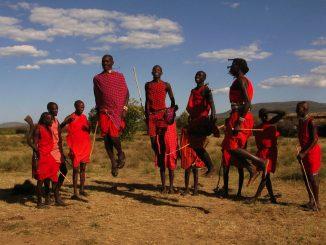 Trib Massai în Kenya