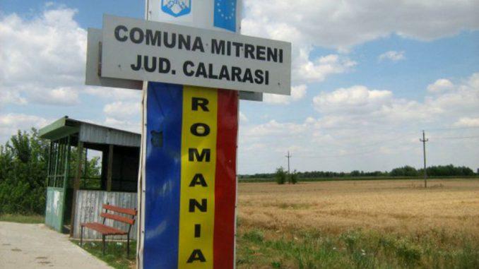 Intrarea în comuna Mitreni, Călărași. FOTO Libertatea.ro