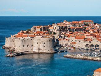 Portul din Dubrovnik. FOTO fjaka