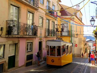 Centrul Lisabonei. FOTO LauraRinke