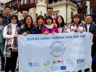 Chinezii au vizitat Castelul Peleș. FOTO Ministerul Turismului