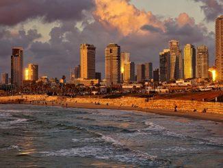 Plaja din Tel Aviv, Israel. FOTO Glavo