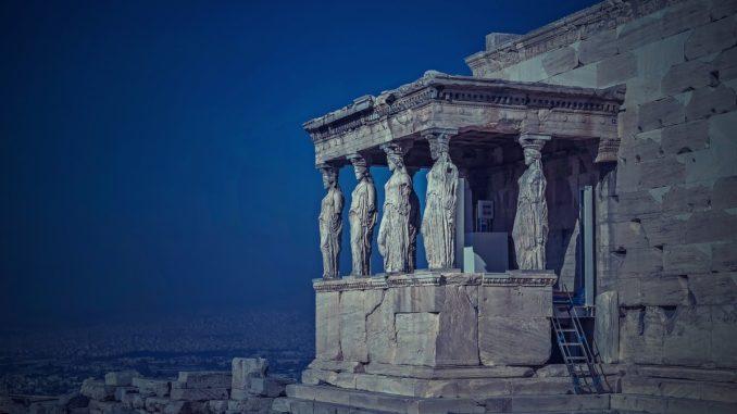Acropole în Atena. FOTO Walkerssk