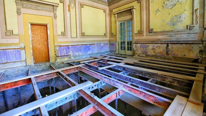 Lucrările la Cazinoul din Constanța au intrat într-o nouă etapă. FOTO Primăria Constanța