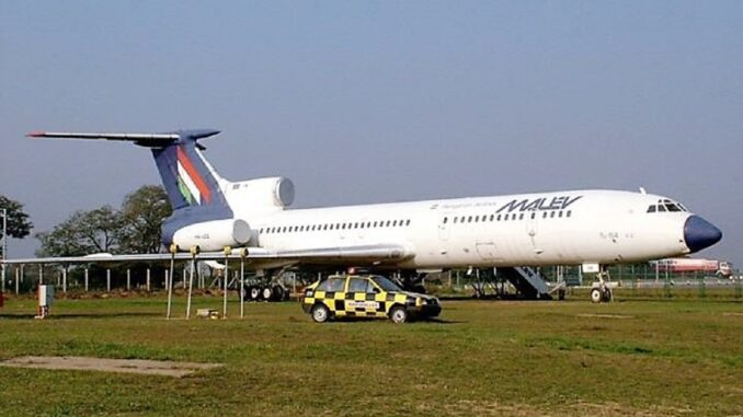 Fosta companie aeriana maghiara Malev a intrat în faliment în 2012. FOTO Facebook Malev