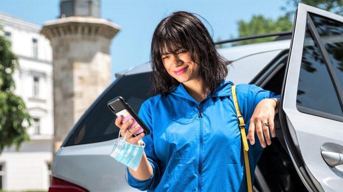 Primul utilizator care a încercat Uber în Constanța este Aylin Cadîr.