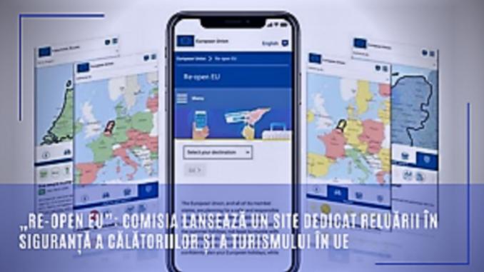 Comisia lansează un site dedicat reluării în siguranță a călătoriilor și a turismului în UE