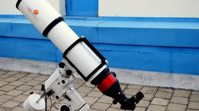 """Telescopul Lunt: FOTO Observatorul Astronomic al Muzeului """"Vasile Pârvan"""" Bârlad"""