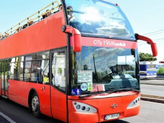 Autobuzele etajate vor fi reintroduse în circulație. FOTO CT BUS