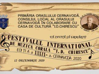 """Festivalul Internațional de Muzică Corală """"I. D. Chirescu"""" din Cernavodă"""